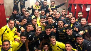 Dorados celebra el pase a semifinales
