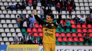 Servio celebra después del triunfo de Dorados.