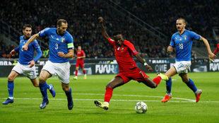 Bonucci vio participación ante Portugal.