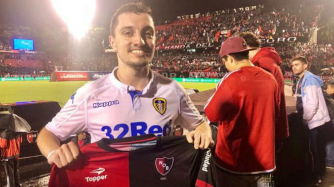 Bradley Hargreaves, the Leeds fan who went to Rosario for Marcelo...