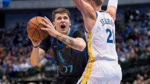Doncic disfruta su estancia en la NBA.