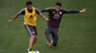 Tras las bajas del Tri, Aquino y González se perfilan como titulares.