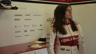 Tatiana Calderón durante un evento.