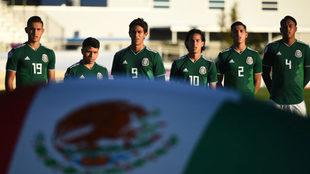 El Tri Sub-20 previo a su duelo ante El Salvador en el Premundial