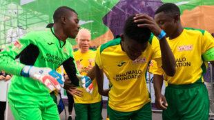 El estilo africano se hizo presente en la Homeless World Cup