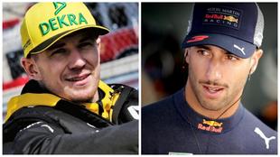 Nico Hülkenberg y Daniel Ricciardo.