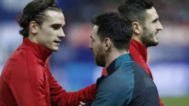 Griezmann Habla sobre el Barça — Fichajes Atlético