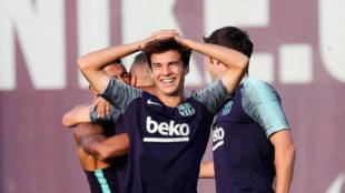 Barcelona calm over interest in Riqui Puig