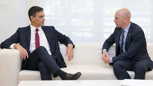 Pedro Sanchez and Rubiales