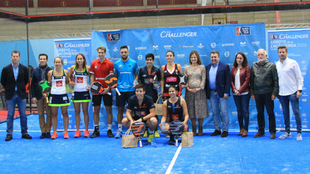 Campeones y finalistas del Challenger de Arroyo de la Encomienda