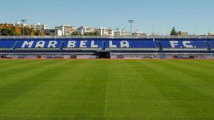 Estadio Municipal de Marbella.