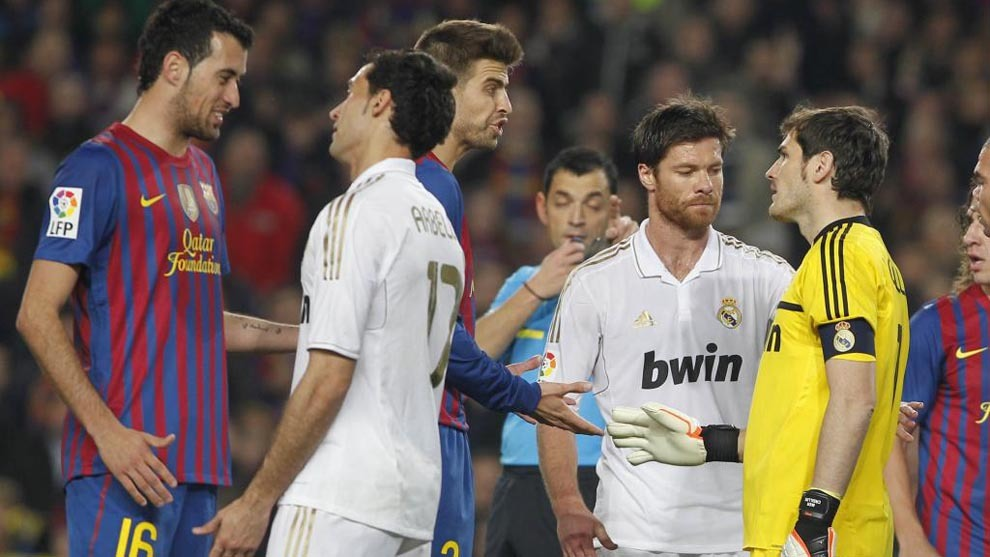 Barca and Real Madrid faced off four times in the space of a month in...