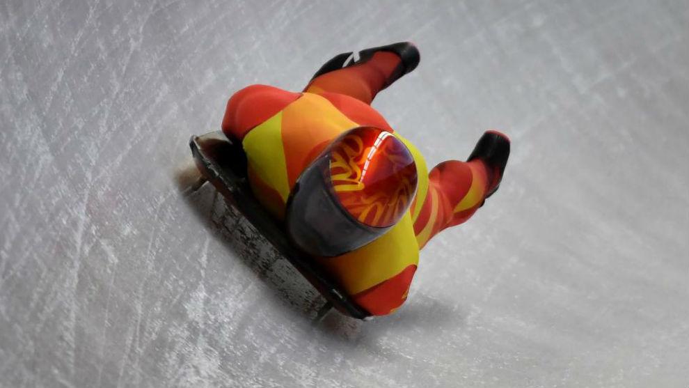 Mirambell, durante lo pasados Juegos Olímpicos de Invierno.