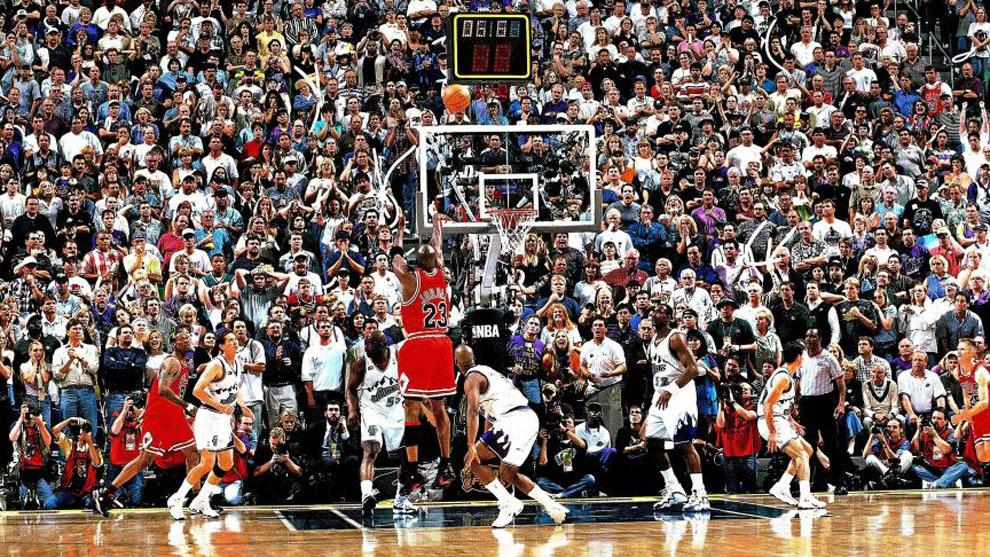 El sexto anillo de Jordan con 'The Last Shot': una canasta para la ...