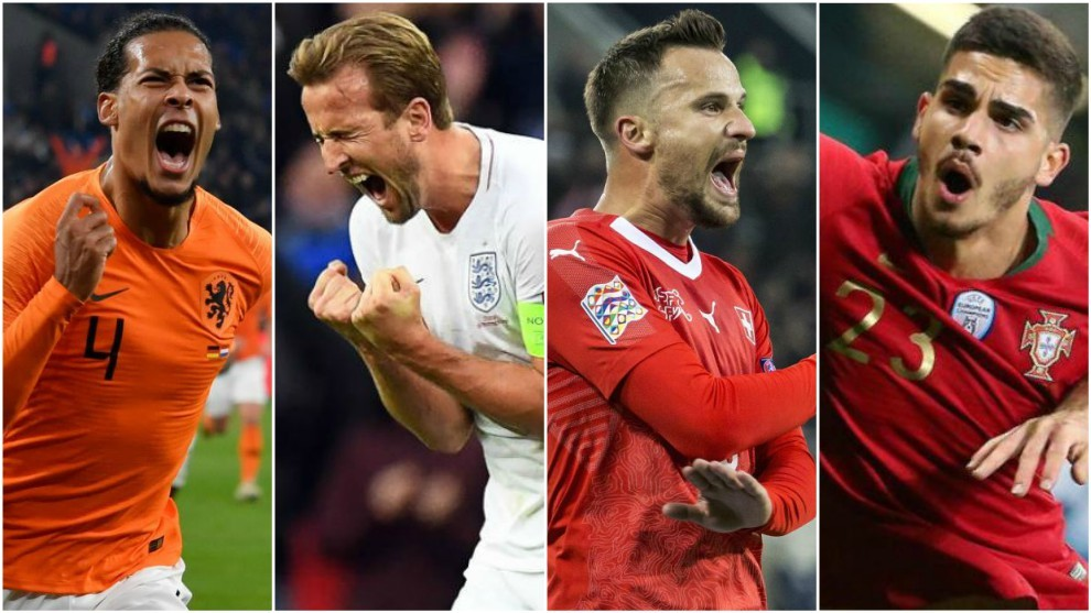 Holland, England, Switzerland and Portugal will play the Final Four.