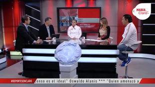 Elvira Tiburcio visitó los foros de Claro Sports.