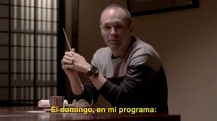 Andrés Iniesta en Salvados junto a Jordi Évole