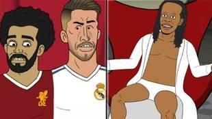 Sergio Ramos y Salah unidos por el hombro con una maldición que sólo...