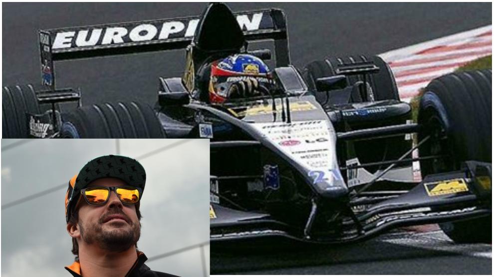 Alonso recuerda su debut en la F1 en la semana de su marcha