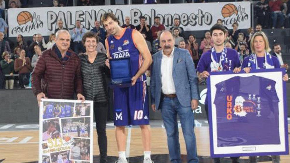 Urko Otegi, el hombre récord de la LEB Oro