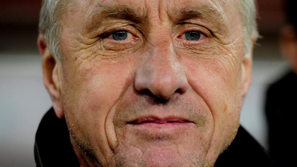 Johan Cruyff en una imagen de archivo