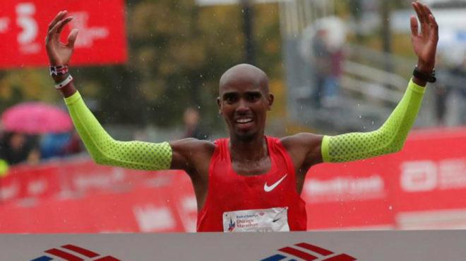 Mo Farah se impone en el Maratón de Chicago el pasado 7 de octubre.