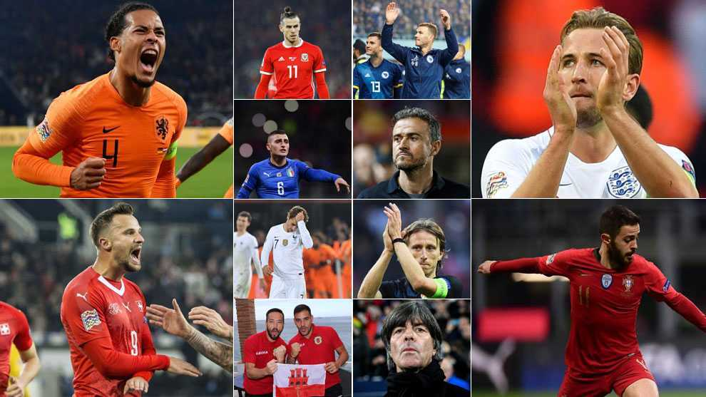 International Football The 55 Uefa Nations League Teams Analysis Surprises Disappointments Marca In English