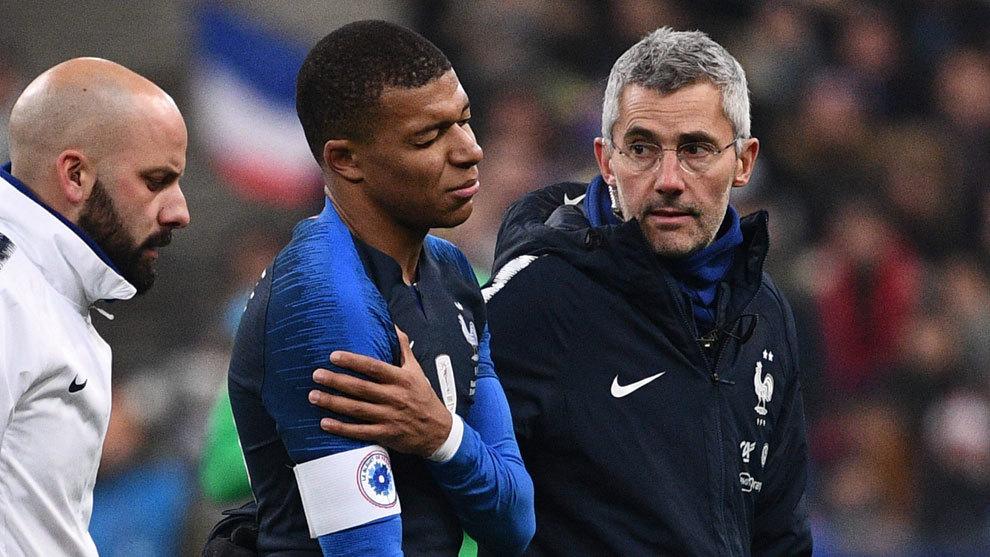 Francia siente la pérdida de Mbappé