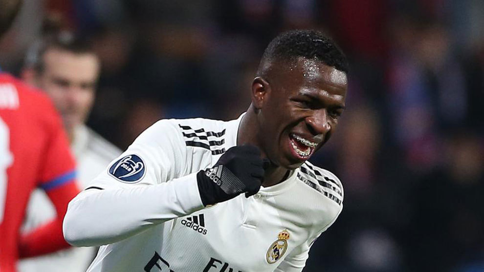 Vinicius Jr. is a finalist for the Golden Boy Award