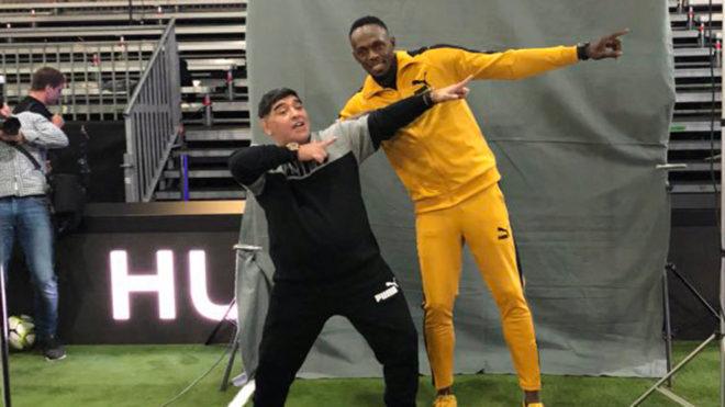 Usain Bolt podría jugar con Dorados.