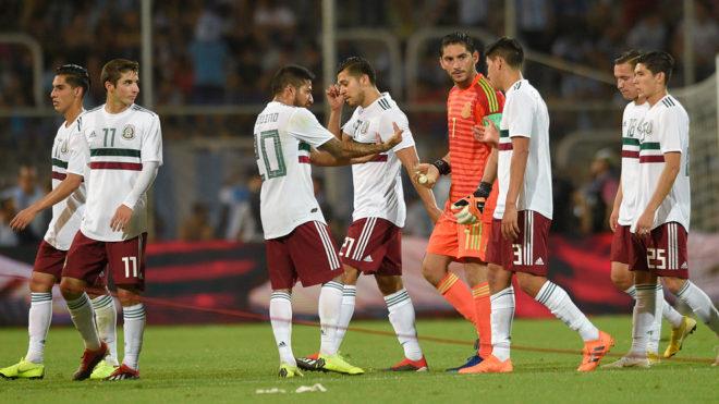 Argentina volvió a doblegar a México