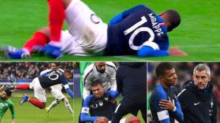 Mbappe shoulder injury shakes PSG