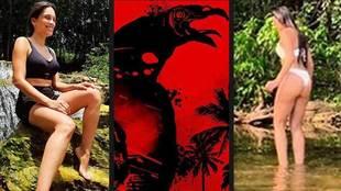 Clarice Alves, Marcelo's wife, conquers the Amazon in 'Urubú'