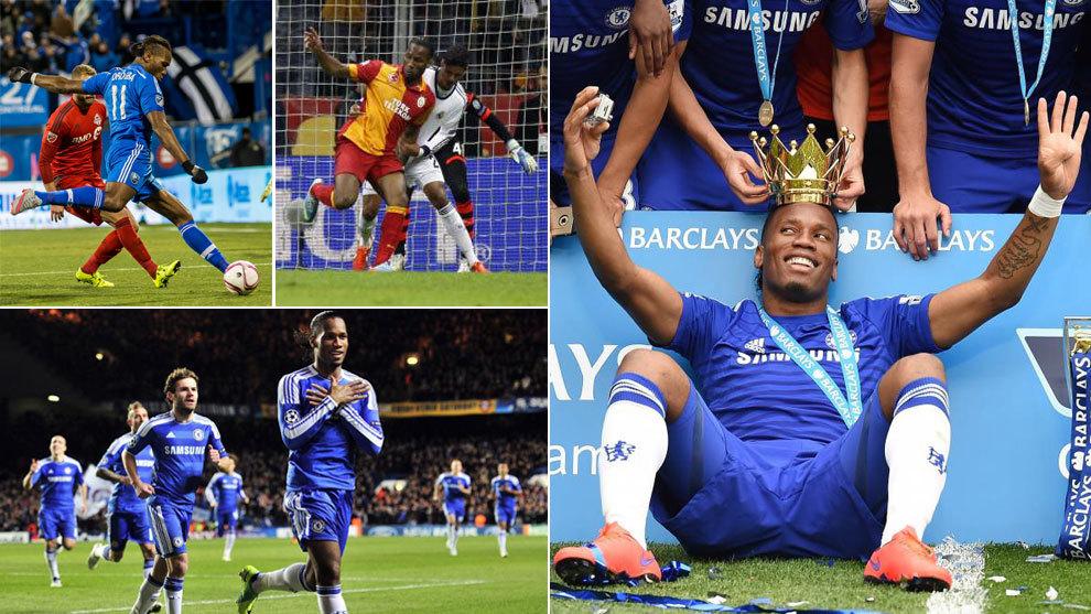 Imágenes de la carrera de Didier Drogba