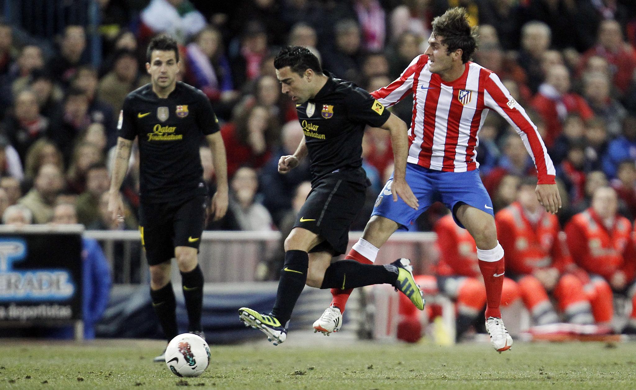 e05abaa6283 LaLiga Santander - Atletico Madrid vs Barcelona  Forever Koke ...