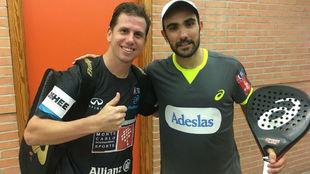 Navarro y Lima, tras su primera victoria en Murcia