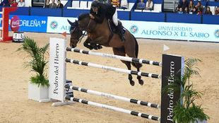 Álvarez Aznar, en otra edición de la Madrid Horse Week.