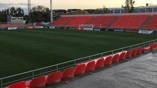 Estado actual del Estadio Cerro del Espino
