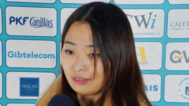La china Ju Wenjun
