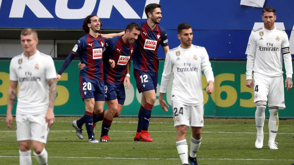 eibar vs real madrid without lopetegui who do real madrid fire now
