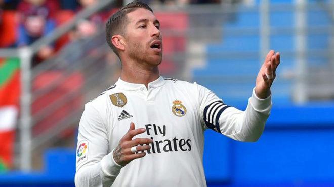 """Sergio Ramos: """"La plantilla es la que es y estamos los que estamos"""""""