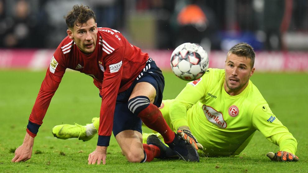 Bayern Múnich vs Fortuna Düsseldorf Un Bayern Múnich sin