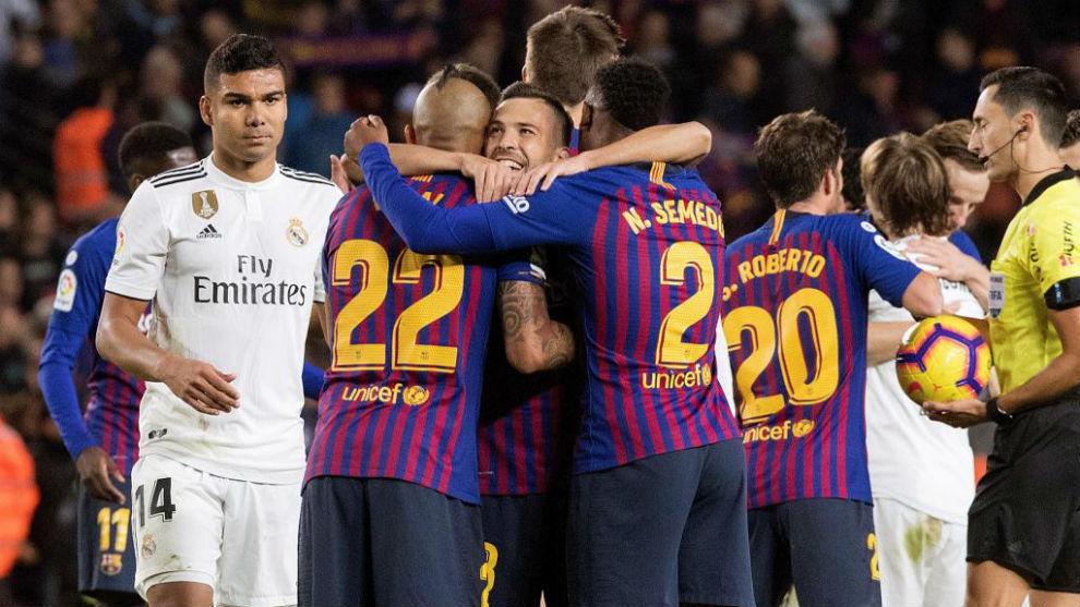 Barcelona, invincible against the big teams