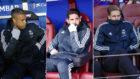 Mariano, Isco y Llorente, en respectivos partidos como suplentes y...