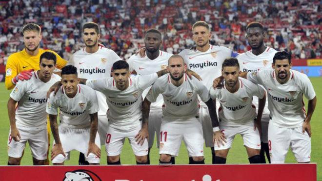 El Sevilla vence al Valladolid y es nuevo líder