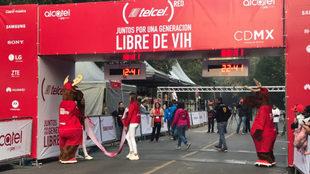 Se lleva a cabo la carrera 2018 de Telcel Red.