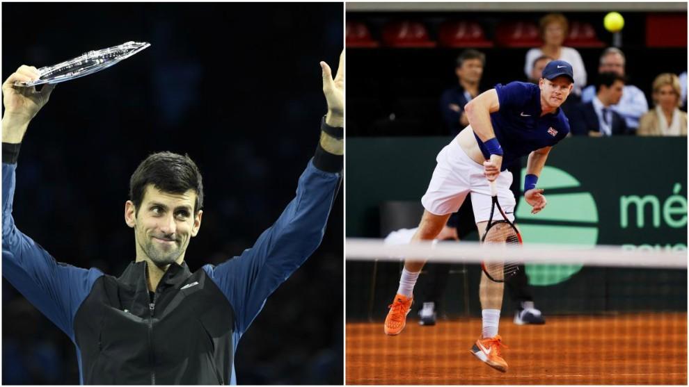 Djokovic y Edmund