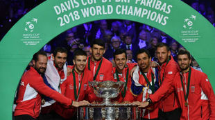 El equipo croata ya toca la Copa Davis 2018