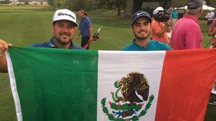 Ancer y Díaz se quedan en el segundo lugar de la competencia.