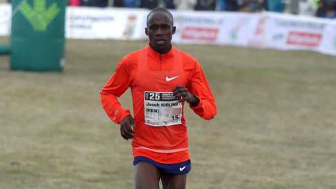 Jacob Kiplimo, en el cross de Soria.